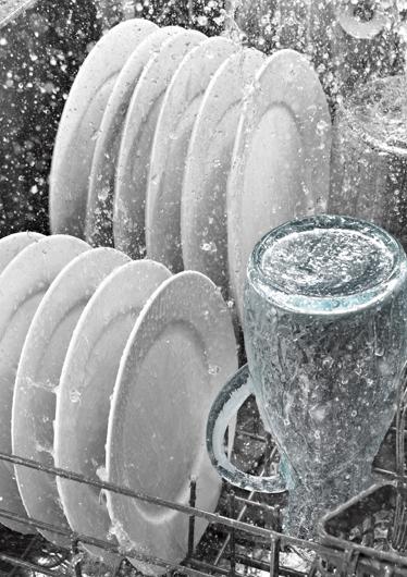 TenStickers. Autocollant vaisselle et eau. Sticker décoratif pour votre appareil d'éléctroménager qui apportera modernité et fraîcheur dans votre cuisine. Promo Exclusives par email.