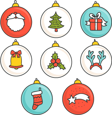 Vinilo stickers dibujos navidad tenvinilo - Motivos navidad para imprimir ...