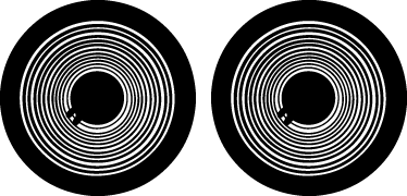 TenStickers. Nalepka za prenosnike na zvočnikih. Kreativen in kul dizajn, ki ponazarja dva zvočnika! Fantastičen dizajn iz naše zbirke nalepk macbook!
