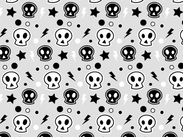 TenStickers. Punk Skull Laptop Sticker. Music Laptop Stickers - Customise your laptop with this cool design. If you love rock or punk music, and are always on your laptop, wrap it with this music laptop skin.