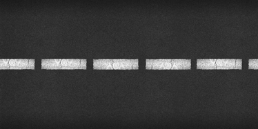 TenStickers. Película de vinil autocolante de estrada. Decore as paredes da sua casa com esta película de vinil autocolante com o design de uma estrada de alcatrão.