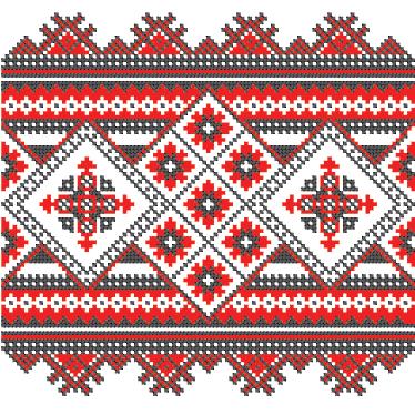 TenStickers. Nalepka s križnimi šivi vinilne plošče. Vinilne nalepke - oblikovanje vzorcev s križnimi šivi za okrasitev katerega koli prostora. Primerno za božično obdobje in zimsko sejo.