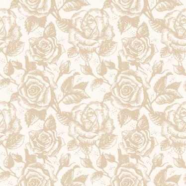 Sticker Papier Peint Beige Rose Tenstickers