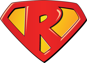 TenStickers. Super Hero B Kids Sticker. Richard, Robert, Rachel...  If you have children with names that start with R then this would be a great sticker to decorate their room or play area.