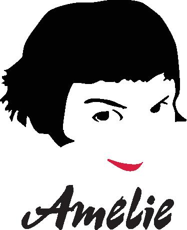 TenVinilo. Vinilo decorativo Amelie. ¿Eres de los que has visto decenas de veces este film protagonizada por Audrey Tautou? Pués este adhesivo está pensado para ti.