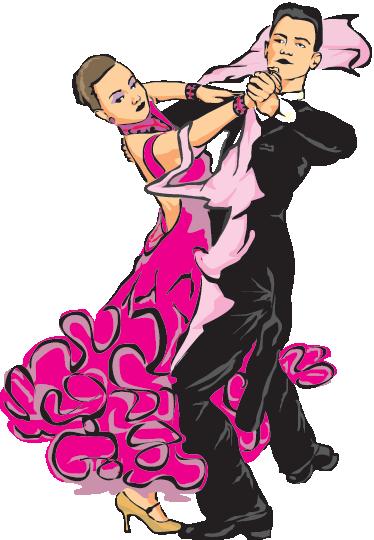Autocollant mural danse de salon tenstickers for Rumba danse de salon