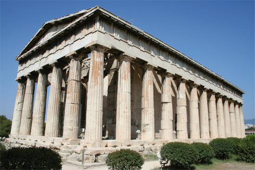 TenStickers. Photo murale Acropole. Photo murale adhésive illustrant l'Acropole d'Athènes.Sélectionnez les dimensions de votre choix.Idée déco originale et simple pour votre intérieur.