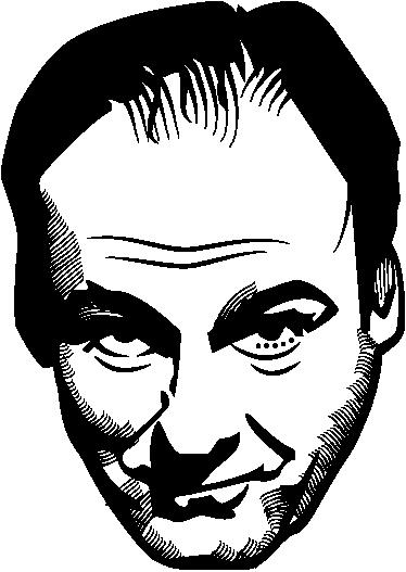 TenStickers. Sticker hoofd Gandolfini. Deze muursticker omtrent het hoofd van James Gandolfini. Ideaal voor grote fans van deze beroemde acteur en producer!