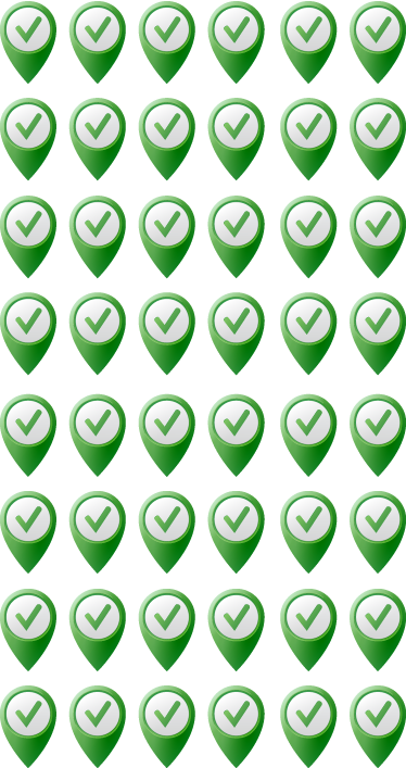 TenVinilo. Stickers lugares visitados. ¡No más chinchetas! Indica los sitios donde estuviste en un mapa de nuestro catálogo con esta colección de adhesivos de medidas personalizables.