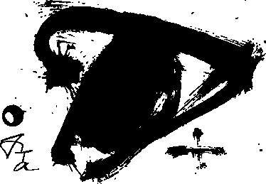 TenStickers. Tàpies Muursticker. Muursticker met een kunstwerk van de kunstenaar Tàpies. Verkrijgbaar in verschillende kleuren en maten. Eenvoudig aan te brengen.