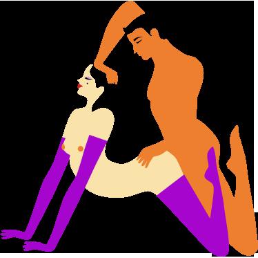 Tenstickers. Orgasmi kuvitus koriste tarra. Paranna sukupuolielämääsi ja tee makuuhuoneestasi mielenkiintoisempaa, käytä tätä alkuperäistä seinätarraa.