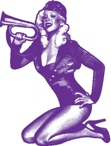 TenStickers. Wandtattoo militärisches Pin Up. Dekorieren Sie Ihr Schlafzimmer mit diesem erotischen Wandtattoo einer sexy Frau als militärisches Pin Up in erotischer Pose.