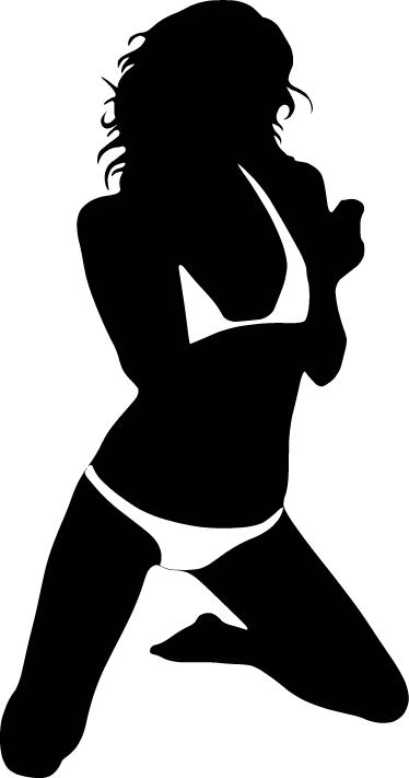 TenStickers. Sensual Woman Wall Sticker. If you're looking for a more risqué and sensual way to brighten up your walls, look no further than this erotic decorative wall sticker!