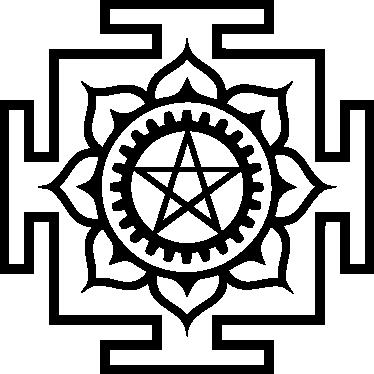 TENSTICKERS. 悪魔のシンボル装飾ステッカー. オカルトファンのための理想的なパターンの壁のステッカー、この悪魔のようなシンボルの壁のステッカーは、あなたの家にゲストを知らせるのに最適です