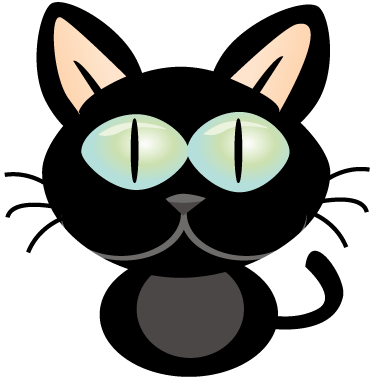 TenStickers. Cat Laptop Sticker. Laptop Stickers - Cat theme sticker. Great for customising your laptop device.*Sticker sizes may vary slightly depending on the size of the device.