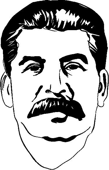 TenStickers. Sticker portrait Staline. Stickers illustrant le portrait du célèbre dictateur de l'URSS.Adoptez ce stickers pour une décoration d'intérieur qui ne passera pas inaperçue.