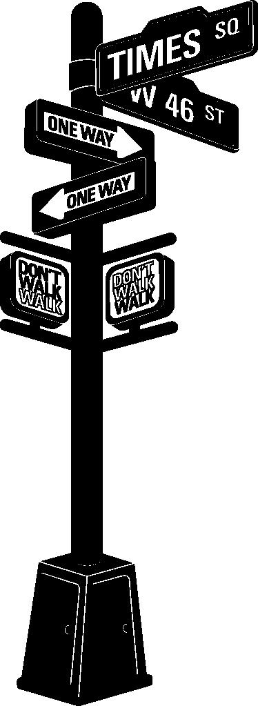New York City Panel Wall Sticker Part 55