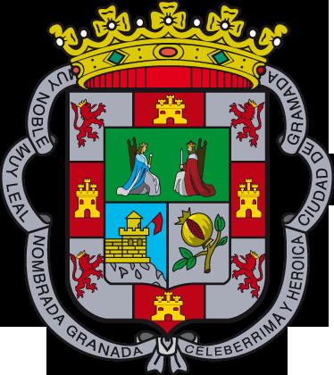 TenStickers. Wandtattoo Emblem Granada. Dekorieren Sie Ihr Zuhause mit diesem Emblem von Granada als Wandtattoo! Damit bringen Sie Stil und Geschichte an Ihre Wände