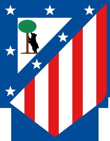 TenVinilo. Vinilo decorativo escudo Atlético de Madrid. Vinilo decorativo del Atlético de Madrid. Decora con los colores rojiblancos, personaliza y crea la atmósfera de la hinchada.