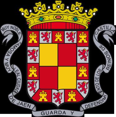 TenStickers. Wandtattoo Emblem Jaén. Dekorieren Sie Ihr Zuhause mit diesem Emblem von Jaén als Wandtattoo! Damit bringen Sie Stil und Geschichte an Ihre Wände