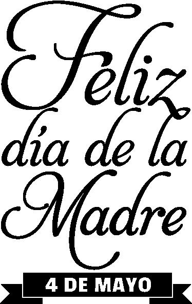 TenVinilo. Adhesivo conmemorativo día madre. El primer domingo de mayo se celebra esta tradicional fiesta dedicada a las mamás. Recuérdalo con este elegante adhesivo.