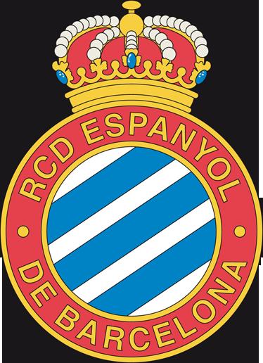 TenStickers. RCD Espanyol Wall Sticker. Sports Stickers - Logo illustration of the emblem of Reial Club Deportiu Espanyol de Barcelona, Spanish professional football club based in Barcelona.