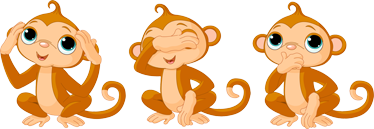 TenStickers. Three Monkeys Kids Sticker. Why have one monkey when you can decorate your wall with three? These decals from our monkey wall stickers is for ideal for your kids!
