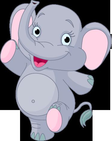 Tenstickers. Glad elefant dekorativa dekal. En fantastisk vänlig elefantmurklistermärke från vår samling av djurväggdekaler för de små hemma! Väldigt lätt att applicera och ta bort! Det lämnar ingen rest vid avlägsnande.