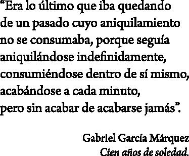 TenVinilo. Vinilo decorativo cien años de soledad. Adhesivo con un extracto de una de las obras clave del autor colombiano Gabriel García Márquez.