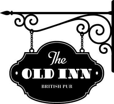 TenStickers. The Old Inn Pub Sticker. Now you can turn your own bar or restaurant into a classic English pub with this traditional style sticker.