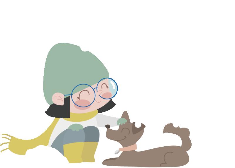 TenVinilo. Vinilo infantil bebé chica nieve. Adhesivo decorativo de niña abrigada con bufanda y gorro. Alegre dibujo animado para personalizar la habitación de tus hijos.