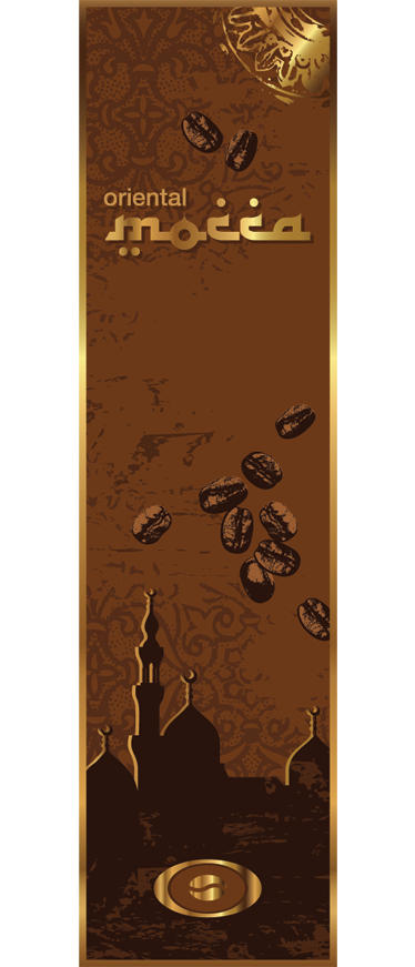 TenStickers. Mocha Coffee Fridge Sticker. A brilliant coffee theme design from our collection of coffee wall art stickers to decorate and personalise your fridge.