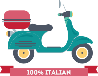 TenStickers. Teal Vespa Scooter Sticker. A superb design illustrating a vespa scooter from our collection of teal wall stickers to decorate your empty spaces at home!