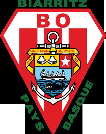 TenStickers. Sticker emblème Biarritz Olympique. Stickers représentant le logo de l'équipe de rugby Biarritz Olympique.