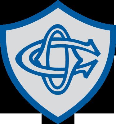 """TenStickers. Sticker embleme Castres Olympique. Un sticker mural représentant le logo de l'équipe de rugby de la ligue Top 14, """"Castres Olympique"""". Dimensions personnalisables. Prix Imbattables."""
