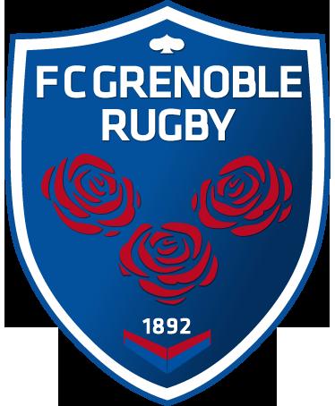 TenStickers. Sticker embleme Grenoble Rugby. Stickers représentant le logo de l'équipe de rugby de Grenoble. Sélectionnez les dimensions de votre choix pour personnaliser le stickers à votre convenance.