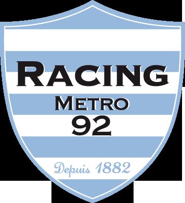 TenStickers. Sticker logo Racing Metro. Pour tous les fans de l'équipe de Rugby des Hauts-De-Seine, dotez-vous de ce stickers représentant le logo du club de rugby Racing Metro.