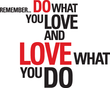 Do What You Love Love What You Do Quote Gorgeous Do What You Love Quote Sticker  Tenstickers