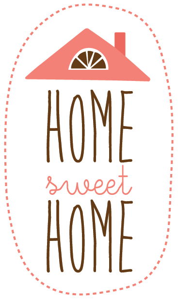"TenStickers. Home Sweet Home Wall Sticker. Wall Stickers - Original design with the saying ""Home Sweet Home""."