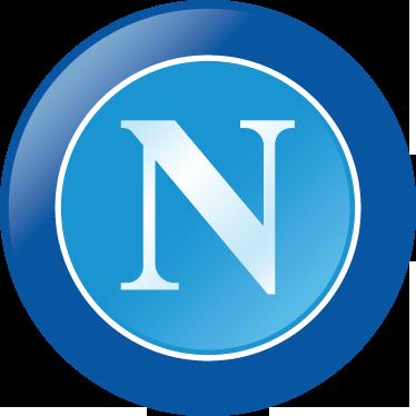 TenStickers. Sticker Napoli logo. Een nieuwe muursticker met het logo van Napoli! Ben je een fan van Dries Mertens of van Napoli?