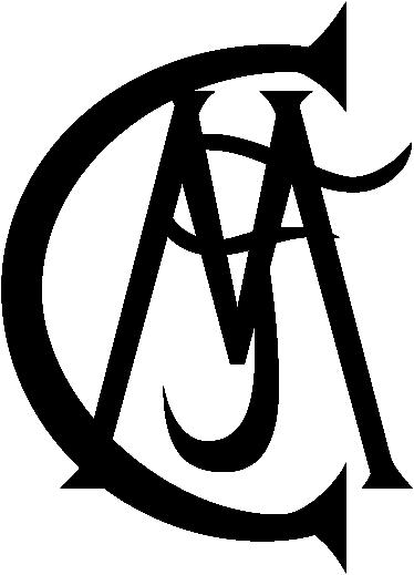 TenVinilo. Adhesivo escudo Real Madrid antiguo. Emblema en adhesivo monocolor de los inicios del equipo de Concha Espina.