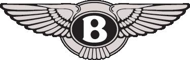 TenVinilo. Vinilo decorativo emblema Bentley. Pegatina con el escudo de esta clásica marca de automóviles de lujo fundada en Inglaterra a principios del siglo XX.