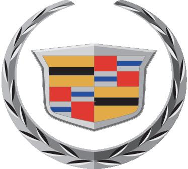 TenVinilo. Vinilo decorativo emblema Cadillac. Escudo en adhesivo de la emblemática marca de vehículos norteamericana.