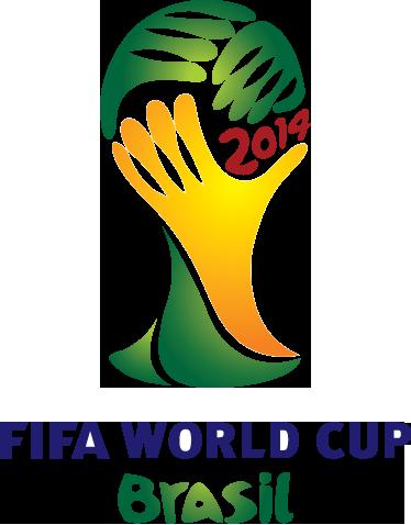 TenVinilo. Vinilo decorativo logo Brasil 2014. Emblema característico en adhesivo del mundial de balompié que se celebra en el país carioca.