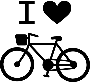 TenStickers. I Love Cycling Decal. Got an ace of hearts? This original and creative blackboard sticker is ideal for any room at home. Do you like playing card games like blackjack