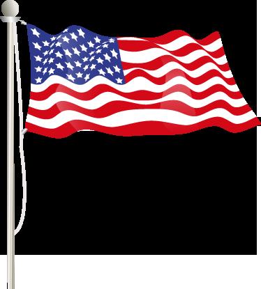 Laptop Aufkleber USA Flagge - TenStickers