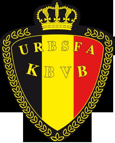 TenStickers. Sticker voetbal Belgisch elftal. Een leuke muursticker met het logo van de nationale voetbalploeg van België. Ben jij een fan van de Rode Duivels?