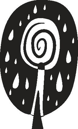 TenVinilo. Vinilo decorativo árbol africano. Adhesivo decorativo floral con el diseño de un árbol. Pegatina que ofrece una visión original de la naturaleza y que puedes utilizar para la decoración del salón o el comedor de tu vivienda.