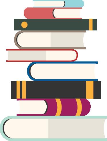 TenStickers. Bücherstapel Sticker. Ist Ihr Kind ein Bücherwurm? Dann ist dieses Bücher Wandtattoo wie für Ihren Nachwuchs gemacht und dekorativ zugleich. Tägliche Rabatte