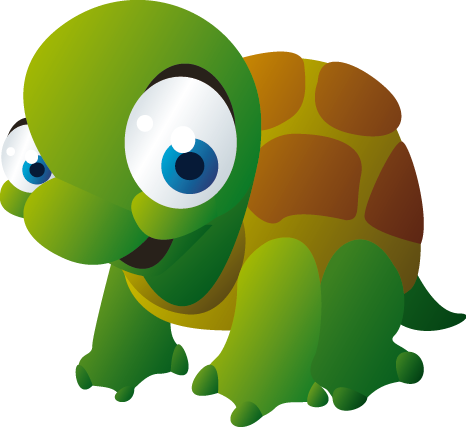TenStickers. 아이 아기 거북이 벽 스티커. 아이들의 벽 스티커 -이 아이들의 거북이 벽 스티커는 자녀의 침실에 딱 맞습니다. 귀여운 동물 데칼은 아이들이 볼 때마다 자녀를 기분 좋게 해주 며, 방에서 쾌활한 분위기를 조성합니다.